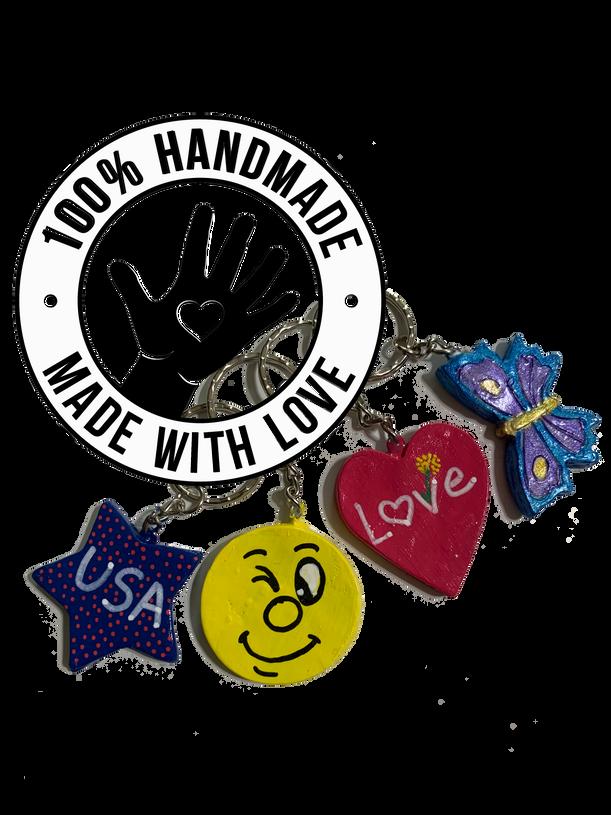 Handmade / Hand-painted Key-Chains