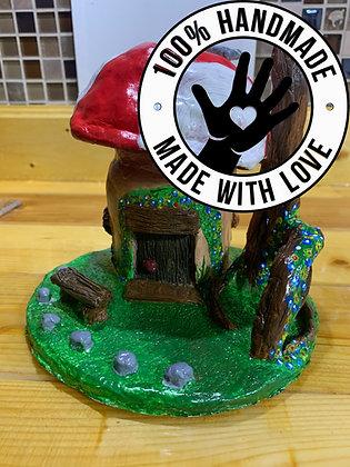 Handmade Mushroom House