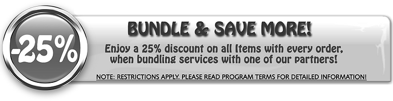 Special Offer -25% Off
