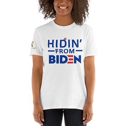 """Hidin'"" Light Colors Short-Sleeve Unisex T-Shirt"