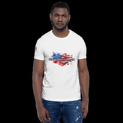 """#SAVETHECHILDREN"" Short-Sleeve Unisex T-Shirt"