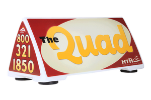 Quad Car Sign