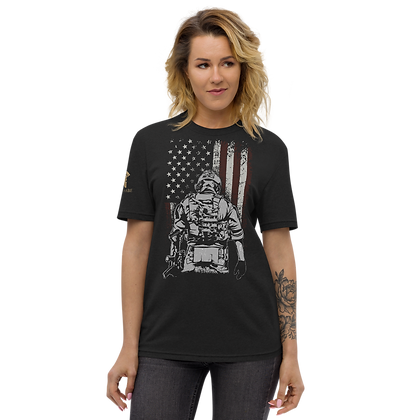 """""""US SOLDIER"""" Unisex recycled t-shirt"""