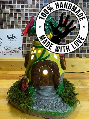 Handmade Fairy House/Night Lamp