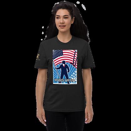 """""""WWG1WGA"""" Unisex recycled t-shirt"""