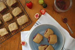 Fresh Strawberry Fig Newtons