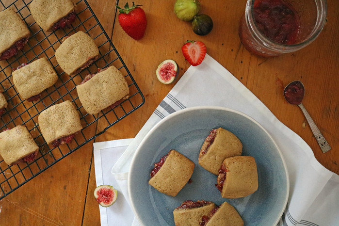 Fresh Strawberry Fig Newtons