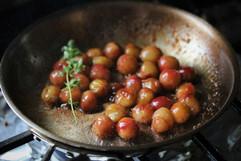 Blistered Grapes