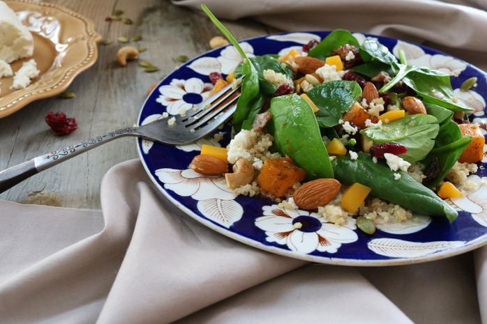 Toasted Harvest Grain Salad