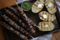 Kara Olsen Food Photographer Steak and Potatoes