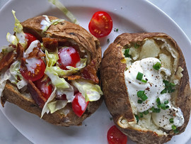 Kara Olsen Food Photographer loaded bake