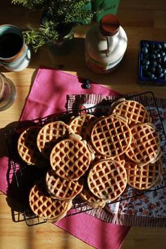 Homemade Freezer Waffles