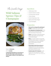 Wild Salmon Spruce Tips & Champagne