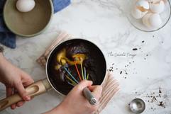 Kara Olsen Food Photography Beating Eggs