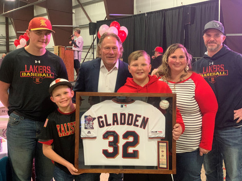 2020 Batter Up Bash guest Dan Gladden
