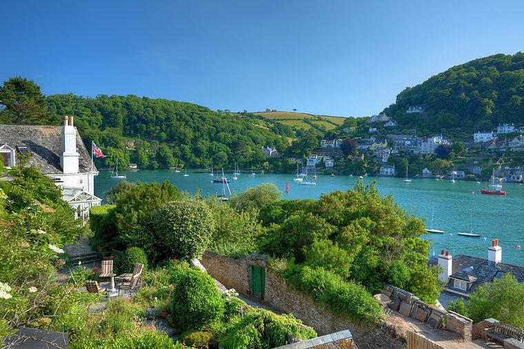 Dartmouth in Summer, Devon, England.jpg