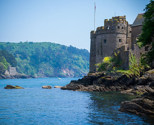 Kingswear and Dartmouth Castle, Devon, U