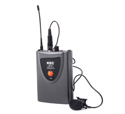 Belt-pack Transmitter with lapel mic