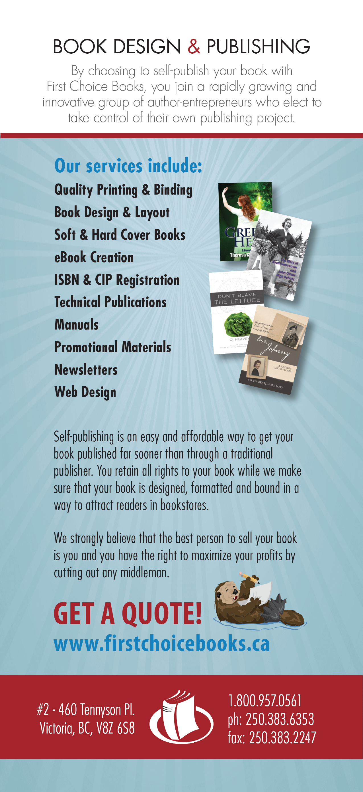 Promotional Rack Card