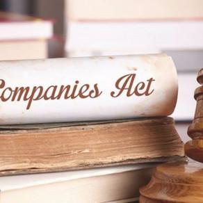 Important changes The Companies (Amendment) Act, 2017