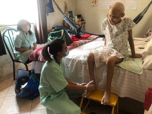 Taguatinga – Atendimento Home Care possibilita qualidade de vida a pessoas em tratamento do câncer.