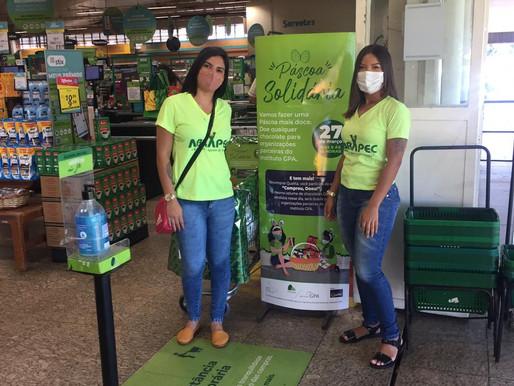 Taguatinga – ABRAPEC participa da Campanha Páscoa Solidária promovida pelo Instituto GPA.