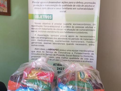 Atibaia – ABRAPEC recebeu doação do Grupo Ata Cultural.