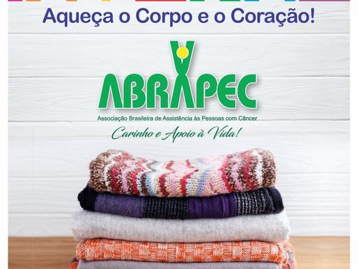 """ABRAPEC dá inicio a Campanha de inverno """"Aqueça o Corpo e o Coração"""""""