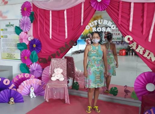Taguatinga – ABRAPEC realização ação social e presenteia mulheres atendidas pela Associação.