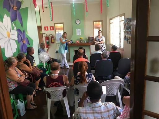Importância da saúde bucal foi tema de palestra realizada na ABRAPEC em Atibaia