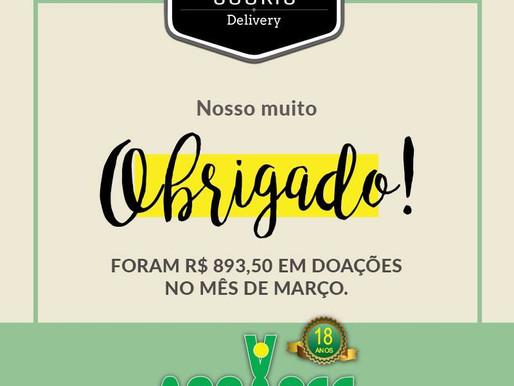 Ribeirão Preto - Projeto Cookie Solidário presenteou a ABRAPEC com doação de R$893,50