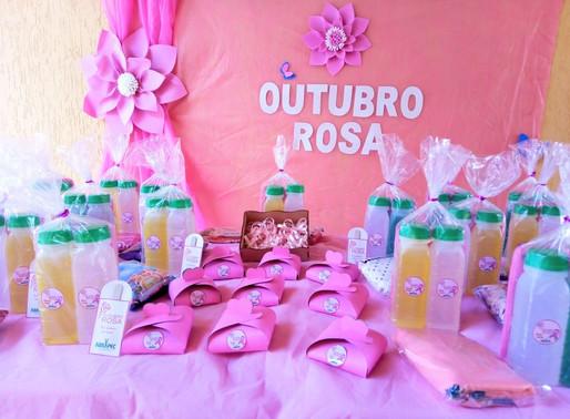 São João da Boa Vista – ABRAPEC realiza entrega de kits para celebrar o Outubro Rosa.