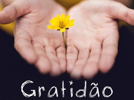06 de Janeiro - Dia da Gratidão.
