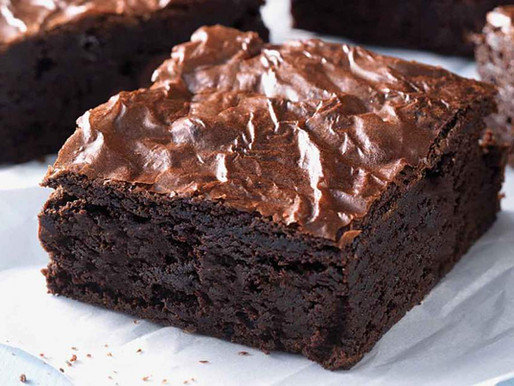 Brownie de Chocolate - Receita do Edu Guedes