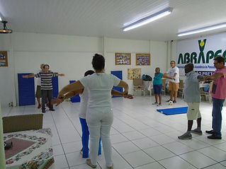 Fisioterapia em grupo ABRAPEC
