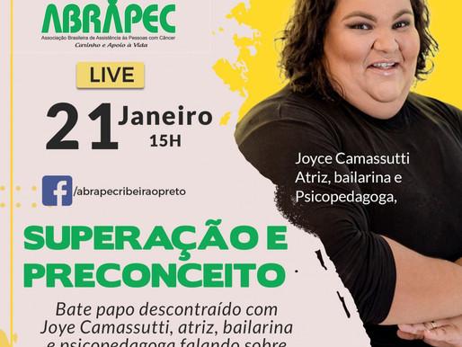 Ribeirão Preto - Joyce Camassuti - Atriz, Psicopedagoga e Bailarina realizará um bate-papo...