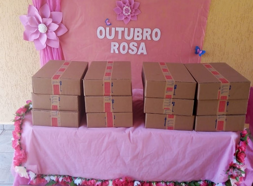 São João da Boa Vista – Aromática Cosméticos doa kits a mulheres em tratamento de CA.