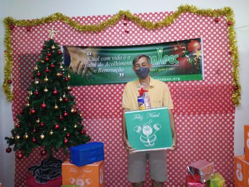 Ribeirão Preto–ABRAPEC inicia entrega de cestas natalinas para 350 pessoas em tratamento do Câncer.