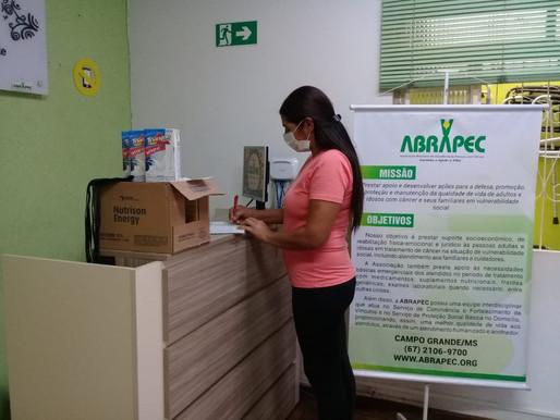 Campo Grande/MS – ABRAPEC realiza a entrega de benefícios.