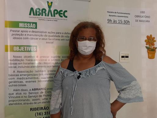 """Ribeirão Preto – """"Ao conhecer a ABRAPEC foi que comecei a ter vontade de viver"""" relata paciente."""