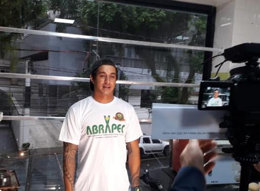 Dário Costa ,vencedor o Mestre do Sabor é o novo padrinho da Campanha da Natal da ABRAPEC.