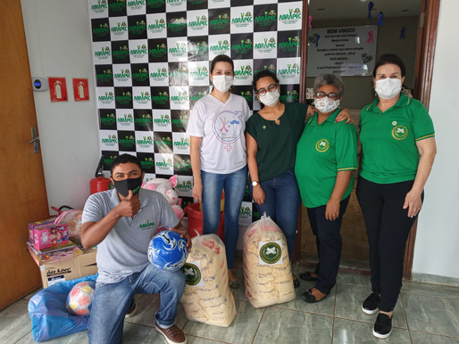 Campo Grande - Fraternidade Feminina Cruzeiro do Sul efetuou visita a ABRAPEC.