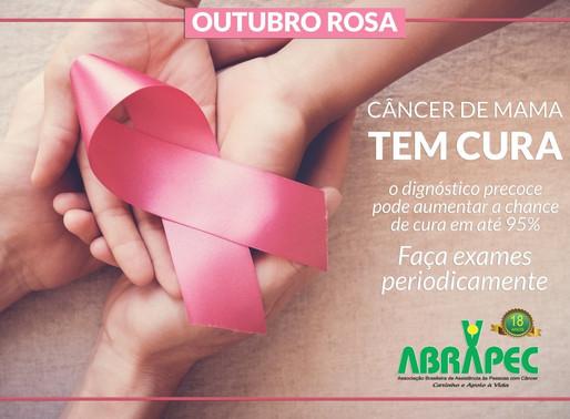 Outubro Rosa – ABRAPEC intensifica apoio a Campanha Internacional para o controle do câncer de mama.