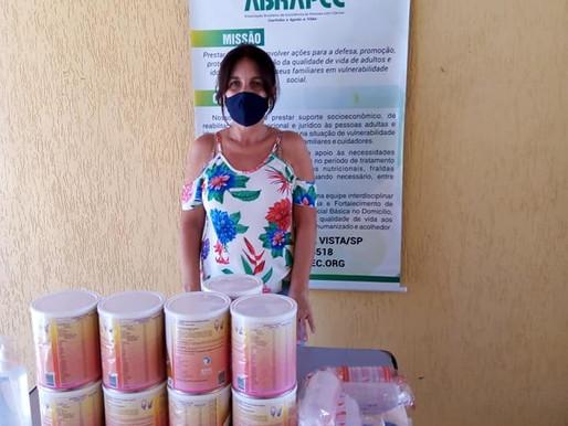 São João da Boa Vista – ABRAPEC intensifica a entrega de suplementos nutricionais.