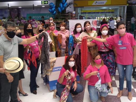Campo Grande – ABRAPEC é uma das Ongs que participam da Campanha Lenço Solidário Comper.