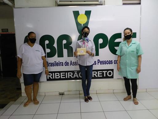 """Ribeirão Preto – ABRAPEC participou da Campanha """"Vá Lenço"""" , coordenada pela ABRALE."""