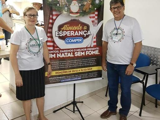 Comper um parceiro das ações sociais da ABRAPEC em Campo Grande/MS.