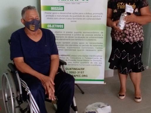 Taguatinga – Mesmo com a pandemia da Covid19  , ABRAPEC continua seus atendimentos.