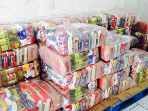 Jundiaí -  ABRAPEC recebeu doação de cestas básicas de duas redes de  supermercados.