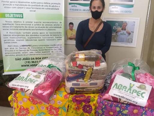 São João da Boa Vista – ABRAPEC intensifica atendimentos a pacientes em tratamento do câncer.